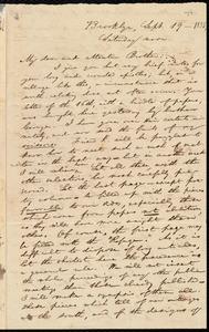 Letter from William Lloyd Garrison, Brooklyn, [Conn.], to Henry Egbert Benson, Sept. 19, 1835, Saturday noon