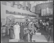 Customers and entertainers at The Count bar, 1117 Olive Street.