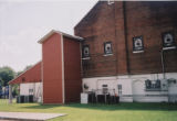 Bethel African Methodist Episcopal Church: view of rear with addition