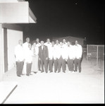 Calvary Baptist Church members group portrait, Los Angeles, 1971
