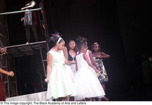Young actresses at Aretha: The Musical Aretha: The Musical