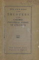 ...annual report of the trustees of the Colored Industrial School of Cincinnati [1918]