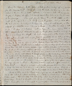 Letter from Hannah Webb, Dublin, [Ireland], to Maria Weston Chapman, 18th of October 1845