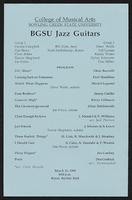 BGSU Jazz Guitars, Bill Kish