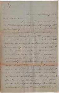 175. James B. Heyward to Maria Heyward -- February 17, 1862