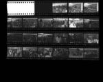 Set of negatives by Clinton Wright of Cassius Clay at Highland, November 4, 1965