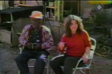 Video of Dilmus Hall's birthday party, Athens, Georgia, 1985 March 13