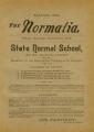 The Normalia, 1894-03