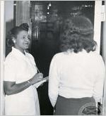 African American police matron, March 1955