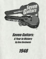 Seven guitars: a year in history