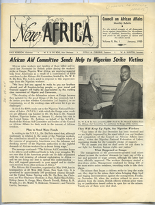 New Africa volume 9, number 1