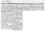 Head of GOP women backs drive to support Girard will