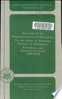 Records of the Superintendent of Education for the state of Alabama, Bureau of Refugees, Freedmen, and Abandoned Lands 1865-1870