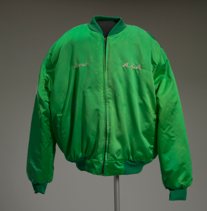 Alpha Kappa Alpha jacket owned by Sarah Clark