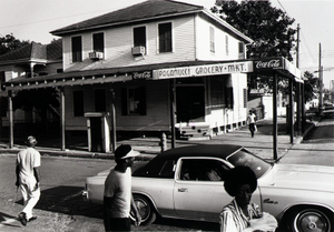 """Thumbnail for Paganucci Grocery and Market (now closed), 3824 Avenue L, Galveston, Texas, from """"The Corner Stores of Galveston,"""" Galveston County Cultural Arts Council"""