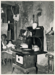 Slum kitchen; Washington, D.C.; October 1937