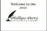 Black excellence awards banquet