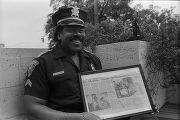 Walter Jackson, the first African American police officer in Mobile, Alabama.