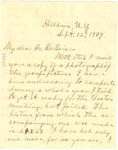 Thumbnail for Letter from Byron Gunner to W. E. B. Du Bois