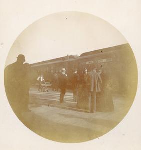 Train Station, ca. 1893