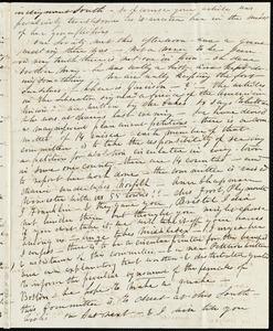 Partial letter from Caroline Weston to Anne Warren Weston, [1836?]
