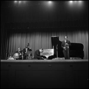 Dave Brubeck Quartet performing jazz