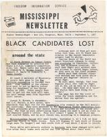 Mississippi Newsletter No. 28