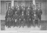 In the service of God; A meeting of the officers of the various churches of all denominations