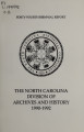 Biennial report of the North Carolina Division of Archives and History [1990-1992]