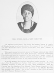 Mrs. Ethel McCracken Cleaves