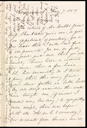 Letter to] Dearest Mary [manuscript