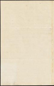 Letter to] Dear Miller [manuscript