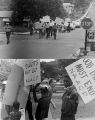 Images of an NAACP march.