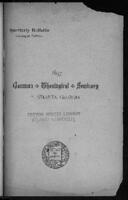 Gammon Theological Seminary, 1891