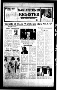 San Antonio Register (San Antonio, Tex.), Vol. 55, No. 43, Ed. 1 Thursday, February 12, 1987
