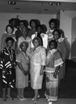 AKA U.N. Marrob Forum participants posing together, Los Angeles, 1985