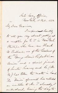 Letter from Oliver Johnson, New York, [N.Y.], to William Lloyd Garrison, 18 Feb[ruary], 1864