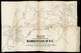 Map of the explored parts of the Mammoth Cave of KY. (1845)
