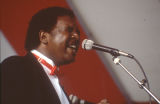 Wayne Williams of the Birmingham Sunlights performing at the 1989 Alabama Folklife Festival in Birmingham, Alabama.