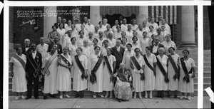 International Conference of the Grand Chapter Order of Eastern Star, Wash. D.C., Aug 18th-21st '35 [cellulose acetate photonegative, banquet camera format]