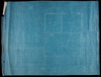 "Blueprints for the Johnsons' home ""Five Acres"" in Great Barrington, Massachusetts by Joseph McArthur Vance"