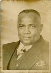 Formal portrait of Samual Richard Higgins