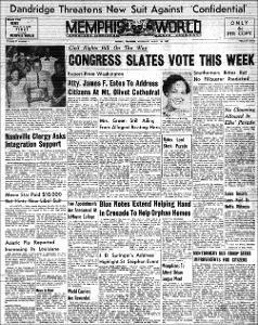 Memphis World, 1957 August 28th