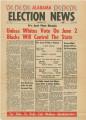 Alabama Election News, volume 1, number 1.