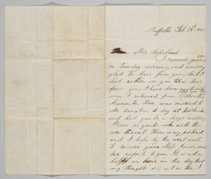 Letter to John Copeland from his wife Ann
