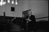 Sterling Allen Brown, Charles T. Davis, Margaret Walker Alexander at Yale University, 1979.(YSP 43-79-4)