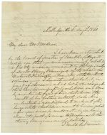 Letters: Woodrow family, 1860-1867