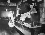 James Wood's shoe shine shop