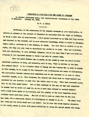 """Address by William Greenleaf Eliot titled """"Education as Connected with the Right of Suffrage,"""" delivered before the Constitutional Convention of the State of Missouri, January 24, 1865"""