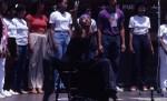 African American Dancer Performing
